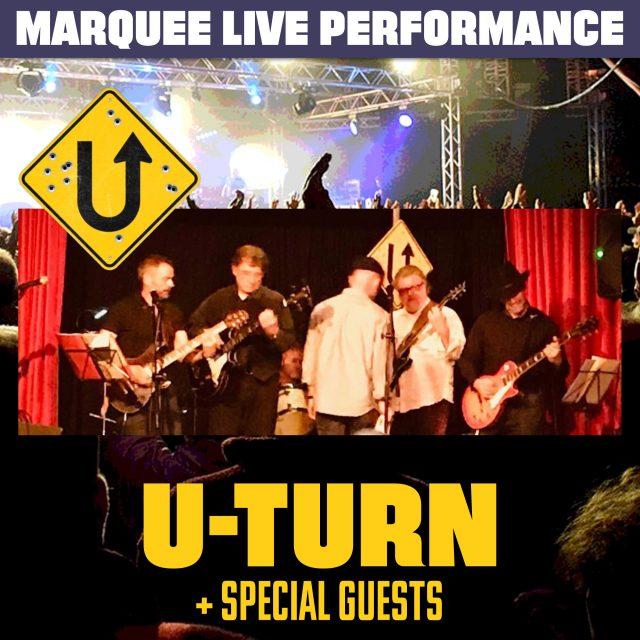 U-Turn Live at Capel Fete-Ival Five Oak Green